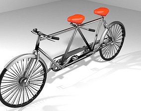 Bicycle - Cruiser 3D model