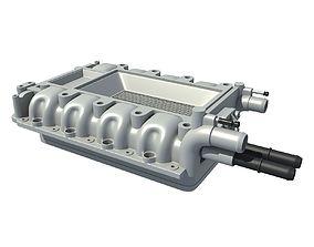3D Engine Intake Manifold