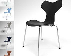 Fritz Hansen Grand Prix Chair Blender Cycles 3D