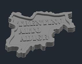 3D printable model Regione Trentino Alto Adige