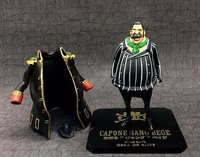 3D print model One Piece Capone Gang Bege