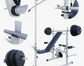 DFC training apparatus 3D model