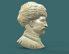 Suleiman The Magnificent Relief Model suleimansculpt