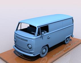 3D printable model VOLKSWAGEN TRANSPORTER TYPE 2 -