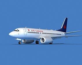 3D Boeing 737 MAX 7 Air Canada