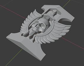 3D printable model Inquisition badge rosette