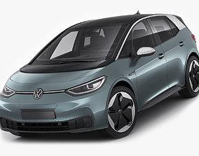 VW ID3 2020 3D model