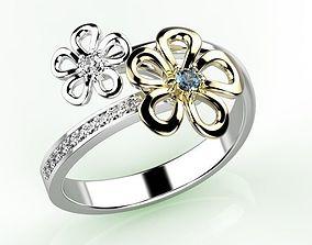 3D print model Ring jewelry ruby