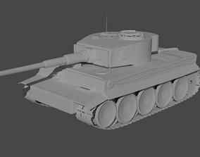 Tiger 131 German Tank 3D