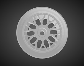 Rotiform DAB rims for Hot Wheels 3D print model