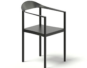 Black Chair 3D