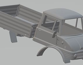 Mercedes Unimog 406 Printable Truck