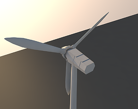 Windmill 3D model invention