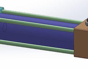 cylinder HYDRAULIC CYLINDER 3D