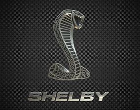 3D shelby logo
