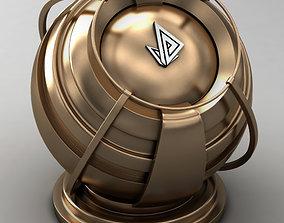 VRAY SHADER---METAL---Bronze 3D