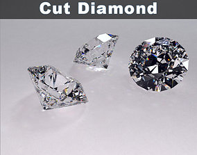Round Brilliant Cut Diamond 3D model