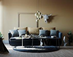 Simple Interior 3dsmax - Corona