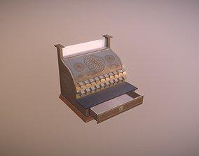 3D asset Cash Register Game Ready Low Poly