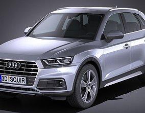 3D Audi Q5 2017