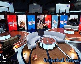 Basketball Heaven Studio 3D model