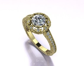 Art Deco Gold And Diamonds 3D printable model