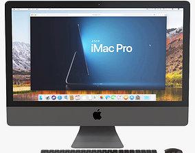 3D model iMac Pro