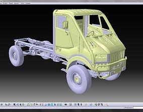 Bremach T-Rex 3d CAD model