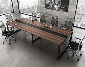 3D meeting room armchair