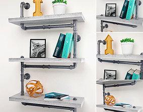 3D model Pipes Decorative Set