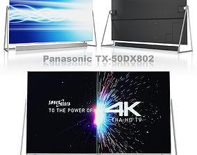3D asset Panasonic TV TX-50DX802