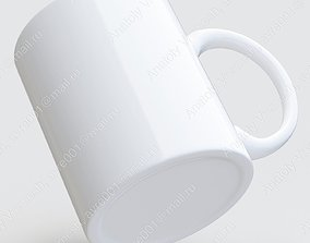 Ceramic mug 3D model