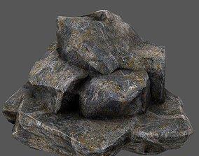 3D model realtime Rocks plant