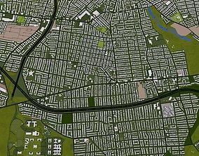 3D model Staten Island NY USA