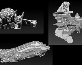 EPIC - ARMAGEDDON SET 4 CRUSHED 3D printable model