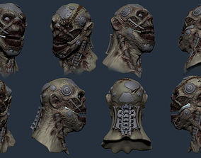 3D printable model Cyborg Zombie