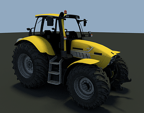 3D Tractor agricultural machinery