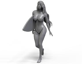 3D print model Beach Girl