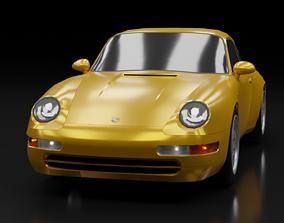3D model 1993 Porsche 911 Carrera 993
