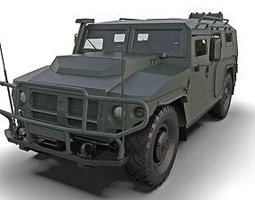 GAZ 2331 Tiger-M 3D