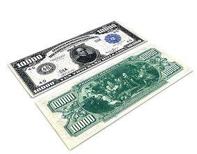 3D 10000 Dollar Bill Chase