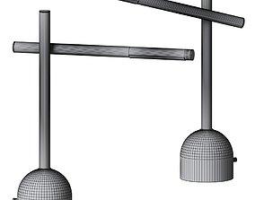 Kelly Wearstler - Rousseau Boom Arm Table Lamp 3D
