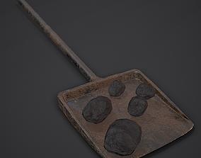 Coal and Coal Shovel 3D model