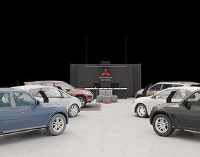 Mitsubishi cars 3D model