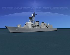 3D model Takanami Class Destroyer Onami