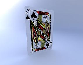 Jack of Spades 3D model