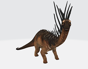 3D asset Bajadasaurus with Animation