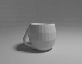 3D printable model egg cup