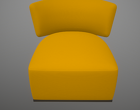 Amoenus soft Antonio Citterio Trevor Mustard 3D asset