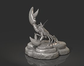 Lobster Ready for 3D Print